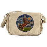 Starry/Arabian hoese (brn) Messenger Bag