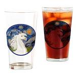 Starry/Arabian Horse (w) Drinking Glass