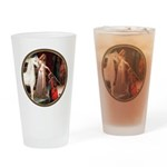 Accolade/Arabian Horse (w) Drinking Glass