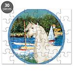 Sailboats/Arabian Horse (w) Puzzle