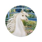 "Bridge/Arabian horse (w) 3.5"" Button (100 pac"