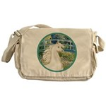 Bridge/Arabian horse (w) Messenger Bag
