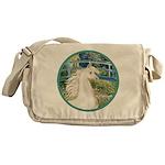 Bridge/Arabian horse (w) Messenger Bag