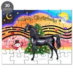 XmsMusic2/Horse (Ar-blk) Puzzle