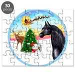Take Off1/ Horse (Ar-blk ) Puzzle