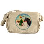Take Off1/ Horse (Ar-blk ) Messenger Bag