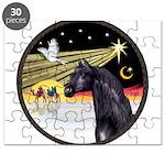 XmasDove/Horse (Ar-blk) Puzzle
