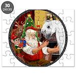 Santa/Horse (Ar-W) Puzzle