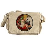 Santa/Horse (Ar-W) Messenger Bag
