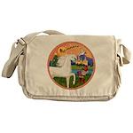 XmsFntsy/Horse (Ar-W) Messenger Bag