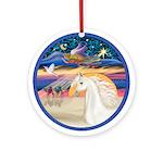 XmsStr/Horse (W2) Ornament (Round)