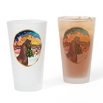 XmsMusic2/Horse (Ar-Br) Drinking Glass