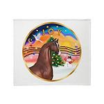 XmsMusic2/Horse (Ar-Br) Throw Blanket
