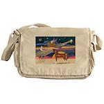 XmsStar/Horse (Ar-Br) Messenger Bag