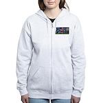 Starry Night Quarterhorse Women's Zip Hoodie