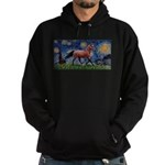 Starry Night Quarterhorse Hoodie (dark)