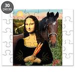 Mona's Quarterhorse Puzzle
