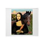 Mona's Quarterhorse Throw Blanket