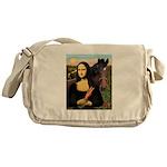 Mona's Quarterhorse Messenger Bag
