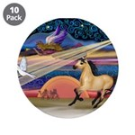 Xmas Star Buckskin Horse 3.5