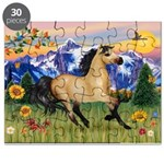 Mt. Country Buckskin Horse Puzzle