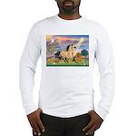 Cloud Star & Buckskin horse Long Sleeve T-Shirt