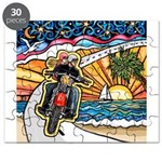 Motorcycle Skyway #1 Puzzle
