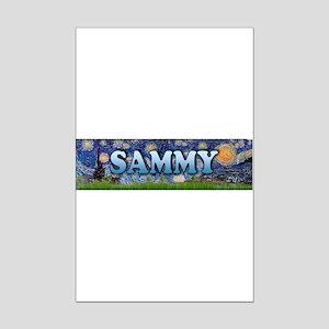 Starry Night. Mini Poster Print