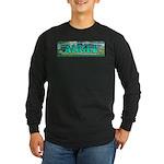Lily Pond Bridge. Long Sleeve Dark T-Shirt