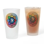 Many Paths to One God Drinking Glass