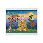 Buddha 1 - Inner Peace Throw Blanket