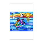 Sea Turtle #8 Mini Poster Print