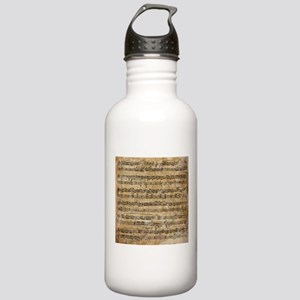 Vintage Sheet Music Stainless Water Bottle 1.0L