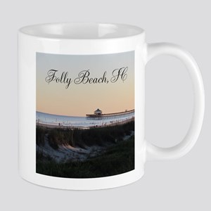 Folly Beach, SC Pier Mug
