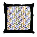Spanish Stars and Windmills P Throw Pillow