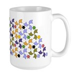 Spanish Stars and Windmills P Large Mug