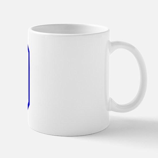 Varsity Uniform Number 49 (Blue) Mug