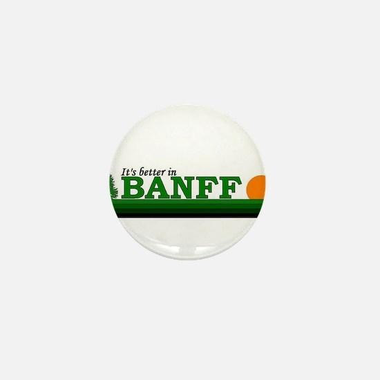 Unique Banff Mini Button