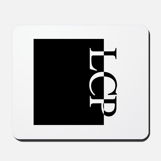 LCP Typography Mousepad
