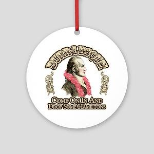 Burr-lesque Ornament (Round)