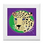 Jaguar Tile Coaster