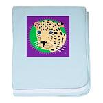 Jaguar baby blanket