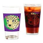 Jaguar Drinking Glass