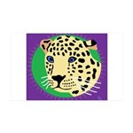 Jaguar 38.5 x 24.5 Wall Peel