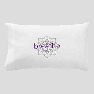 breathe Om Lotus Blossom Pillow Case