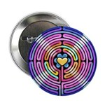 """Labryinth 2.25"""" Button (10 pack)"""