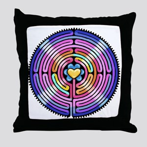 Labryinth Throw Pillow