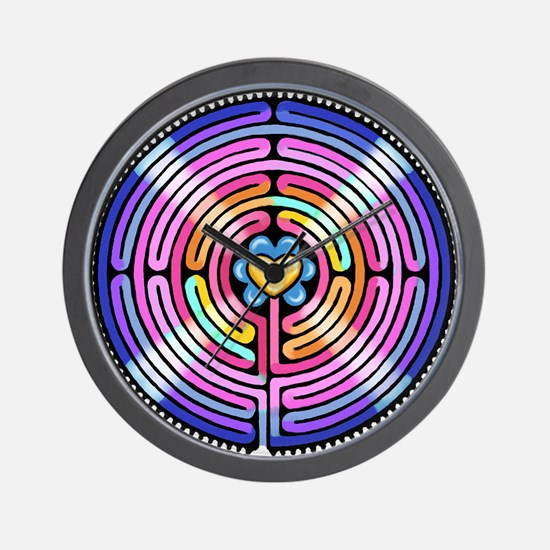 Labryinth Wall Clock