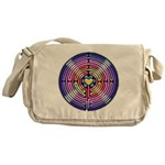 Labryinth Messenger Bag