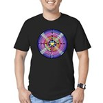 Labryinth Men's Fitted T-Shirt (dark)